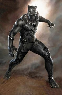 #Black #Panther #Fan #Art. (Stunning First BLACK PANTHER Concept Art) By: Ryan Meinerding. (THE * 5 * STÅR * ÅWARD * OF: * AW YEAH, IT'S MAJOR ÅWESOMENESS!!!™)[THANK U 4 PINNING!!!<·><]<©>ÅÅÅ+(OB4E)