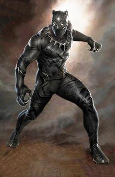 #Black #Panther #Fan #Art. (Stunning First BLACK PANTHER Concept Art) By: Ryan Meinerding. (THE * 5 * STÅR * ÅWARD * OF: * AW YEAH, IT'S MAJOR ÅWESOMENESS!!!™)[THANK U 4 PINNING!!!<·><]<©>ÅÅÅ+(OB4E)