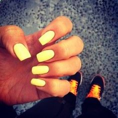 Bright nails make me happy! Motivation!