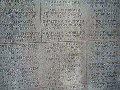 Navne på faldne i 1. verdenskrig