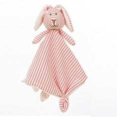 Teddykompaniet  Stripes Bunny Cuddly (Pink)