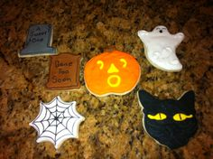 Here are sugar cookies that I made and sent to my two sons in Texas and brother in North Dakota