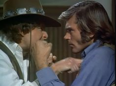 Ben Murphy & Pete Duel. Before breakfast