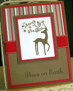 Christmas Card features Elegant Reindeer by britishislesartworks, $3.99