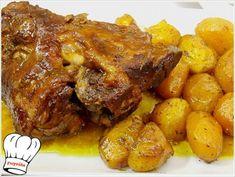 ΚΟΤΣΙ ΜΕΛΩΜΕΝΟ ΜΕ ΜΥΡΩΔΙΚΑ ΣΤΗ ΓΑΣΤΡΑ!!! - Νόστιμες συνταγές της Γωγώς! Greek Recipes, Pork Recipes, Cooking Recipes, The Kitchen Food Network, Confectionery, Pot Roast, Tandoori Chicken, Food For Thought, Fried Rice