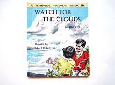 Watch for the Clouds a Vintage Children's by lizandjaybooksnmore, $12.00