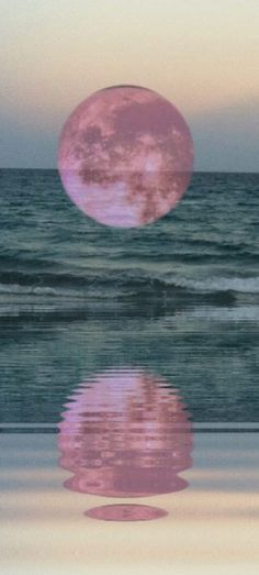 pink moon..........regardless of the technique..........lovely!