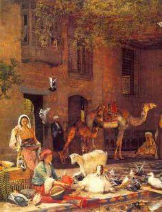 john frederick lewis on arc | Pittori orientalisti - Riproduzione dei dipinti…