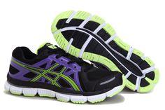 http://www.asicsgelrunning.com/   Asics 2032 Running Shoe Black Blue  Asics 2032 Running Shoe Black Blue