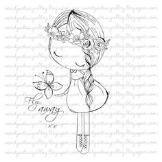 Instant download stamp for scrapbooking, cardmaking and other crafting purposes. Includes 1 file All of the artwork is hand drawn, original and created by me. The artwork is large enough to resize to your specification. This Digi Stamp is available for personal use only.