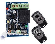 NEW 1 ch 12V RF Wireless Remote Control System / Radio Switch 1 Receiver & 2 Transmitter 315mhz z-wave free shipping