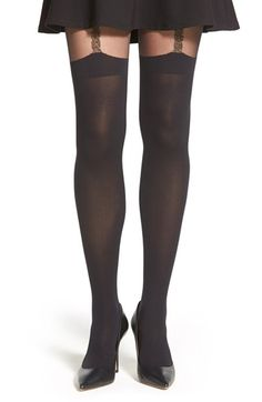 3b2c90e5aac Pretty Polly  Suspender  Tights available at  Nordstrom Holiday Wishes