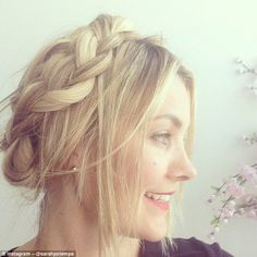 Celebrity hairstylist Sarah Potempa (pictured), who has styled the tresses of tresses of celebrities including Kristen Stewart and Margot Robbie has launched a campaign to showcase a braid a day for an entire year