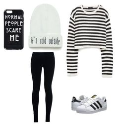 """""""Christmas outfit"""" by natavegalezama on Polyvore featuring Zara, adidas Originals and NIKE"""