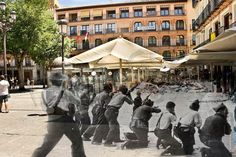 Plaza de Zocodover Toledo Plaza, Wwii, Madrid, Battle, Spanish, Street View, History, Summer, Movies