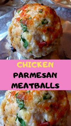 Looking for an easy meatball recipe? This Chicken Parm Meatball Skillet recipe is the best. Ground Chicken Meatballs, Chicken Parmesan Meatballs, Chicken Meatball Recipes, Ground Chicken Recipes Easy, Recipe Chicken, Keto Chicken, Fried Chicken, Healthy Cooking, Cooking Recipes