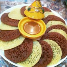 Pancakes, Breakfast, Morocco, Food, Moroccan Cuisine, Bakery Business, Projects, Morning Coffee, Pancake