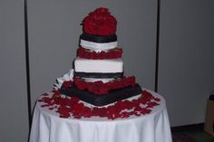 First Wedding Cake I made