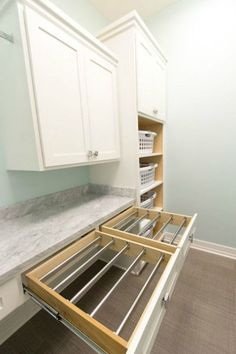 """Fantastic """"laundry room storage diy cabinets"""" information is offered on our site. Read more and you wont be sorry you did. Laundry Room Drying Rack, Clothes Drying Racks, Laundry Room Organization, Laundry Storage, Laundry Room Design, Closet Storage, Small Laundry Rooms, Clothes Hanger, Storage Room"""