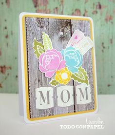 """Mamá – """"MOM"""" « Todo con Papel"""