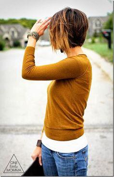 Haare und pulli!