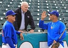 Meeting of the minds.majority owner Michael Gartner, manager Dave Bialas and hitting coach Dave Keller. Iowa Cubs, Meeting Of The Minds, Management, Mindfulness, Baseball Cards, Sports, Hs Sports, Sport, Consciousness