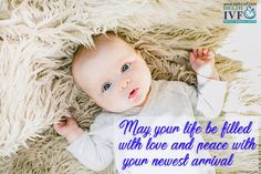 May your life be filled with #love and peace with your newest arrival. #Baby #Mother www.delhi-ivf.com