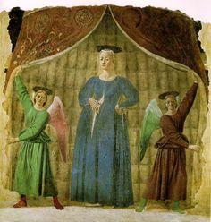 ❤ -  PIERO DELLA FRANCESCA - (1415 - 1492) - Madonna del Parto.