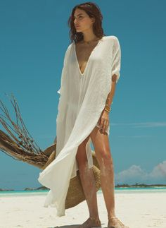 Eberjey End of Summer Marlowe Tunic | Nic del Mar