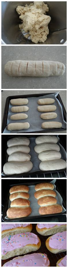 Iced Finger Buns Recipe