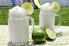 Frozen Coconut Limeade - Dessert Now, Dinner Later!