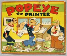 Popeye and Olive Oil Popeye Olive Oyl, Popeye Cartoon, Popeye The Sailor Man, Friend Cartoon, Cartoon Photo, Fun Comics, Comic Character, Comic Strips, Vintage Toys