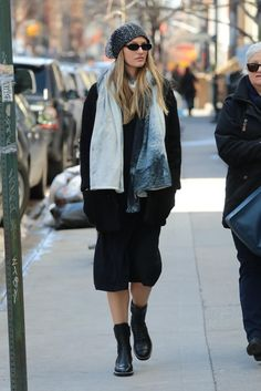 Candice Swanepoel wearing Alexander Wang Mica Boots and Le Specs Outta Love Sunglasses