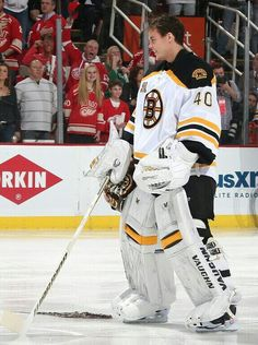 Tuukka Rask gets a octopus thrown at him while in Detroit on 4 22  bd5a2872d