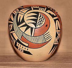 ***Beautiful Traditional 1st Mesa Hopi Pottery by Verla Dewakuku***