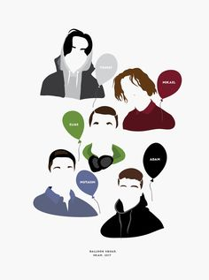 SKAM The Balloon squad has arrived. Source: nanaminhae.tumblr.com REDBUBBLE | IG brbrgraphics | Behance portfolio | E-mail