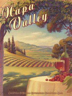 Napa Valley Arte di Kerne Erickson su AllPosters.it
