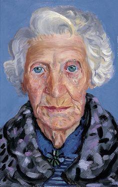 David Hockney (British, 1937) - Mum, 1988-89