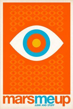 By Pierre Piech, 2012, MarsMeUp logo.