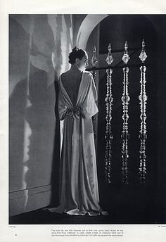 Chanel 1935 Evening Gown, Fashion Photography by Lipnitsky   Hprints.com