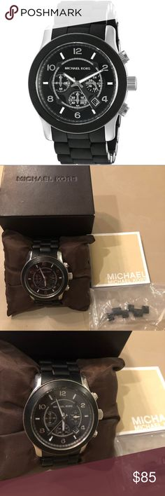 Michael Kors Mens Watch Michael Kors Mens Watch Mk8107  Comes with extra links and box, needs new battery Small scratch on face Michael Kors Accessories Watches