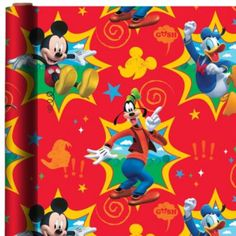 ce76a0d4dcf Mickey Mouse Gift Wrap Mickey Mouse Clubhouse
