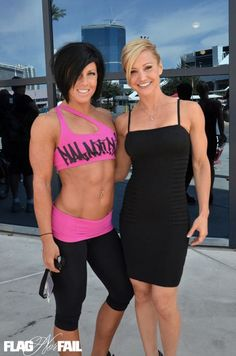 Dana Linn Bailey & Jamie Eason - My pure Motivation in the fitness world these 2 girls right here!!