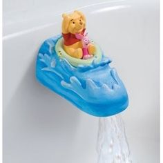 Winnie the Pooh faucet!