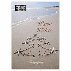Tidal Tree Holiday Cards UP13040 | Beach Christmas Cards | Deluxe.com