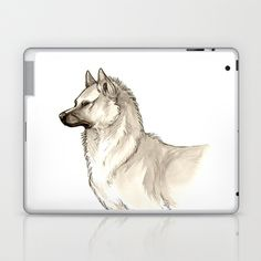 Love for Akita Inus Laptop & iPad Skin by Jessie L.P. - $25.00 Check out my other pages! https://www.facebook.com/pages/Jessie-Pryor-Art/634023236615143?bookmark_t=page http://fineartamerica.com/profiles/1-jessica-pryor.html http://www.youtube.com/user/Sunliger/videos http://www.bluecanvas.com/jaelynn
