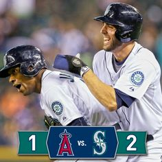 #Mariners walk off the #Angels in the 11th, move to one game back from final Wild Card spot. 9/27/14