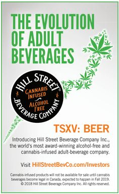 I led the development of this print ad; it was targeted at cannabis investors and designed to drive awareness of Hill Street as an investment opportunity in the cannabis-infused beverage space.