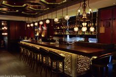 Risultati immagini per amazing bar counter Restaurant Design, Restaurant Bar, Home Bar Counter, Cantonese Cuisine, Tapas Bar, Bar Interior, Wood Bars, Fine Dining, Painting On Wood
