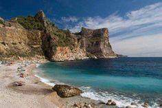 Moraig Creek is located in Benitatxell. #beach #Alicante #CostaBlanca #Spain